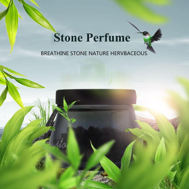 Voiture Pierre Parfums désodorisant Naturel zéolite Solide Parfum Doux Odeur Aromathérapie Solide Voiture de parfum En Verre Bijou Pièces