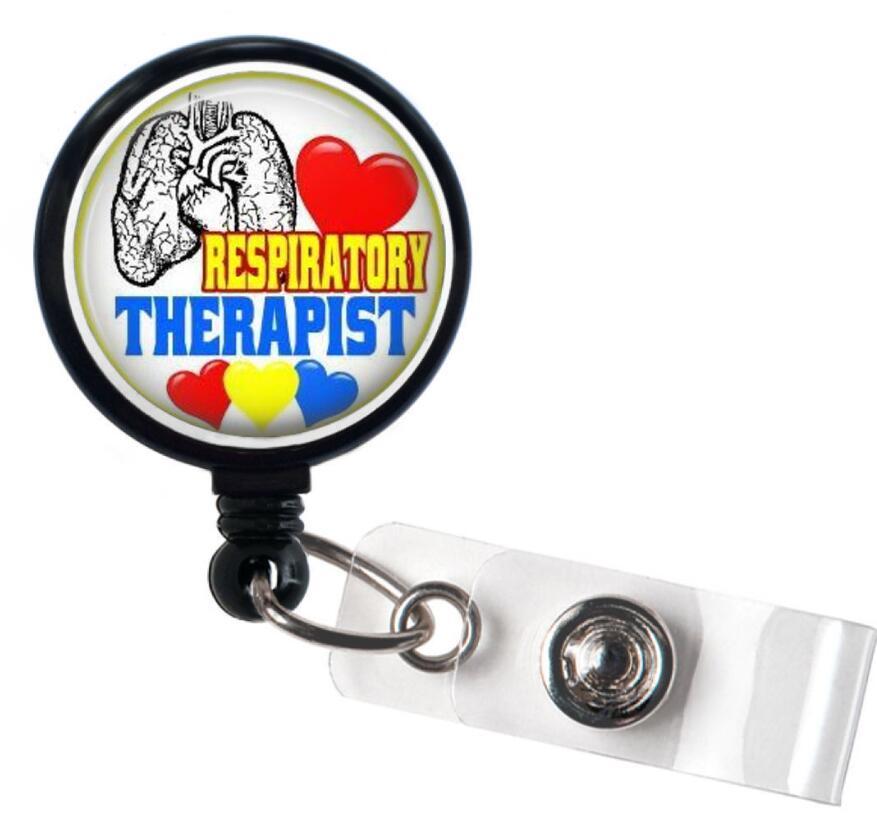 Respiratory Therapist Retractable Badge Holder 10pcs/lot