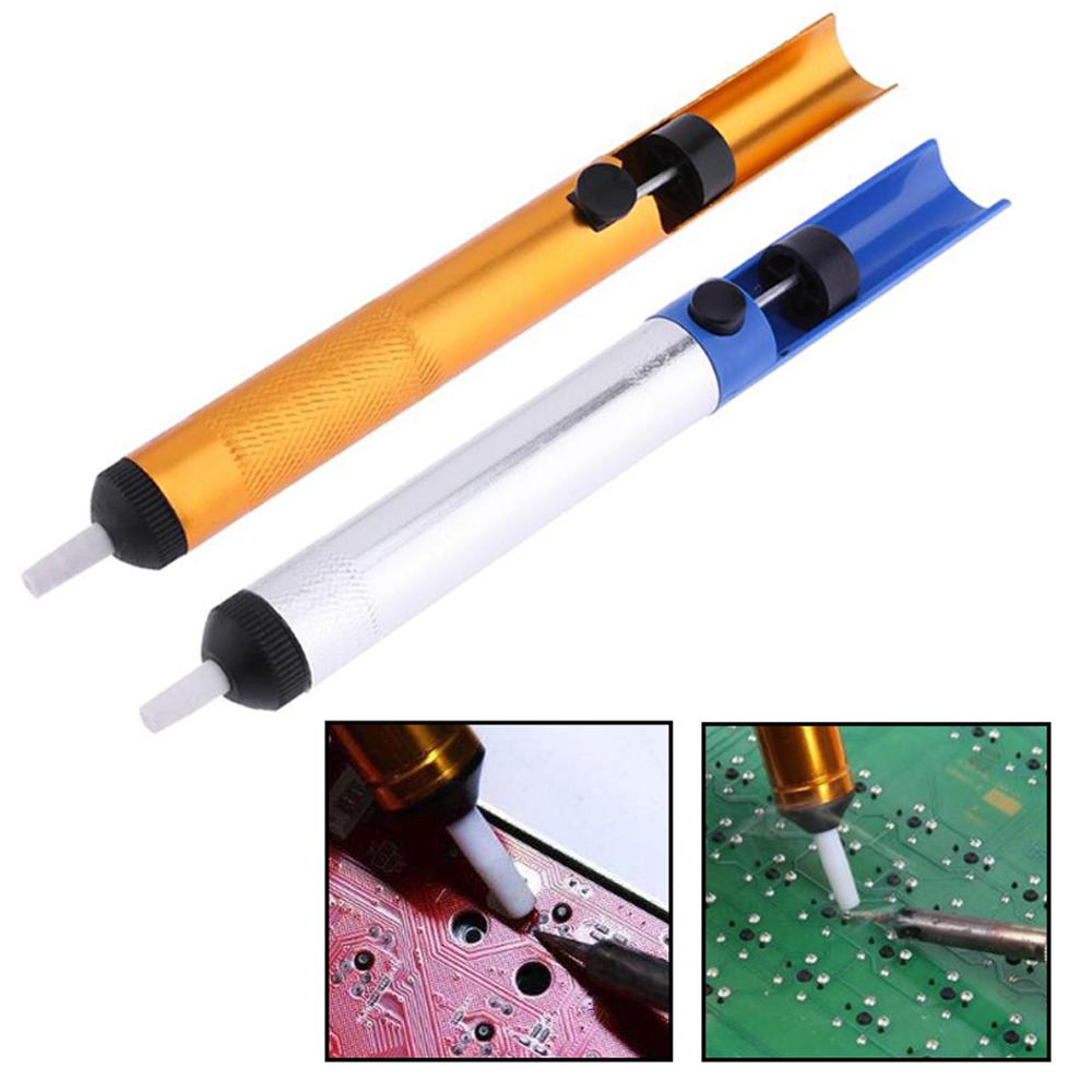 1pcs Metal Solder Sucker Desoldering Pump Removal Vacuum Soldering Iron Desolder Suction Tin Pen Hand Tools Welding Tools