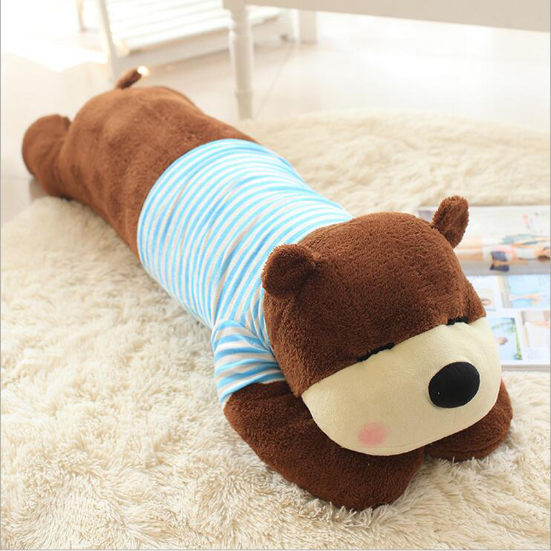 Wearing Clothe Bear Plush Toy Stuffed Animal Doll Plush Pillow Birthday Gift Send to Children Girlfriend in Stuffed Plush Animals from Toys Hobbies