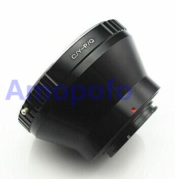 Amopofo CY-PQ Adapter Contax Yashica CY C/Y Lens To for Pentax Q PQ P/Q Mount Adapter Q10