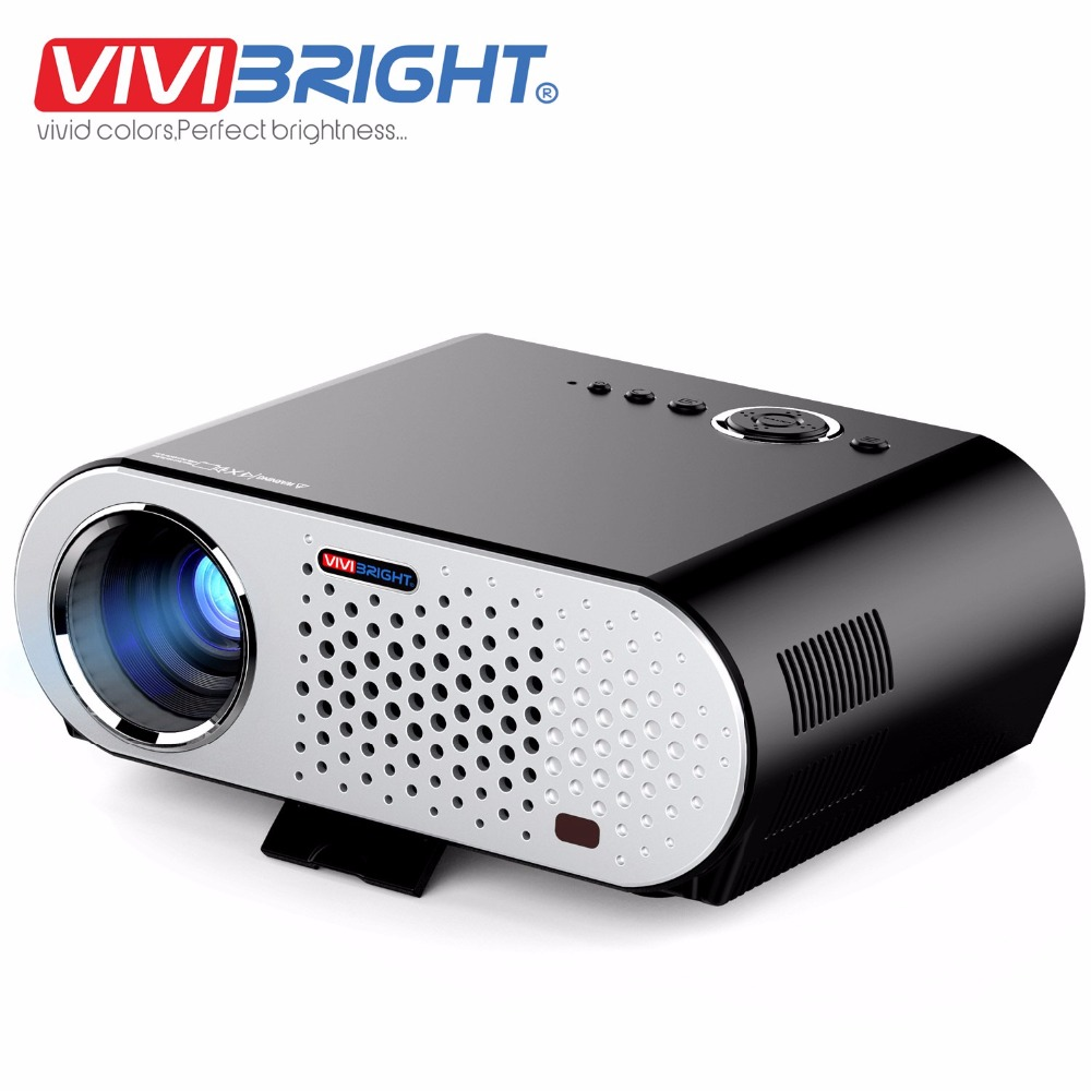 Buy vivibright gp90 led light lcd for Small projector with high lumens