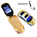 Newmind F15 Russian keyboard Greek Flashlight Dual SIM Cards Mp3 Mp4 FM Radio Recorder Camera Car Model Mini Mobile Phone P431