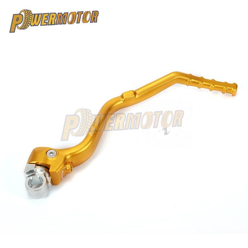 CNC Aluminum Forged Kick Start Starter Lever Pedal Arm For SUZUKI RMZ450 RMZ 450 2008 2009