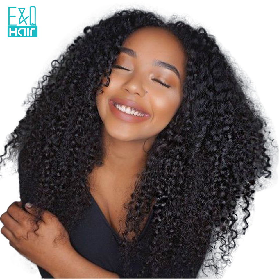 Human Hair Lace Wigs Mongolian Afro Kinky Curly Wig Glueless Full Lace Human Hair Wigs With Baby Hair Pre Plucked Natural Hairline Riya Remy Hair