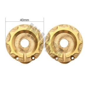 Image 4 - INJORA 2 pièces TRX4 laiton contrepoids poids poids portail boîtier dentraînement pour 1:10 RC chenille Traxxas TRX 4 TRX 6