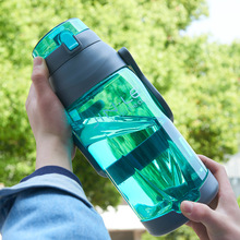 ENERGE SPRING Large-capacity outdoor transparent plastic cup heat-resistant space with handle creative leisure travel bottle