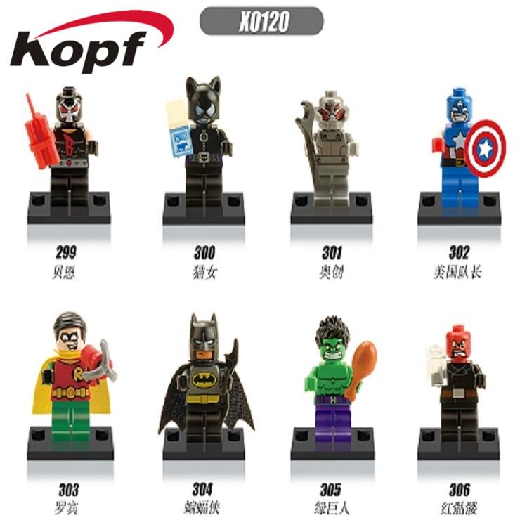 Pg487 Super Heroes Figures Batman Erik Killmonger Arnim Zola Darkseid Robin Building Blocks Learning For Children Toys Gift A Complete Range Of Specifications Toys & Hobbies Blocks