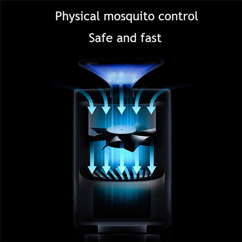 H96 Homekit USB Mosquito Killer Lamp with LED 13