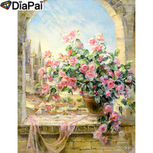 DIAPAI 5D DIY Diamond Painting 100% Full Square/Round Drill Flower landscape Diamond Embroidery Cross Stitch 3D Decor A21664 diapai 100% full square round drill 5d diy diamond painting flower landscape diamond embroidery cross stitch 3d decor a21095