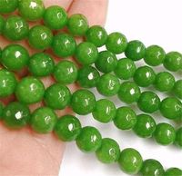 Faceted 8mm Green Peridot Round Beads Loose Beads 15 Strand AA