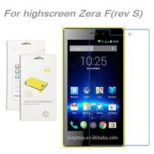 For Highscreen Zera F rev S 3pcs lot High Clear LCD Screen Protector Film Screen Protective
