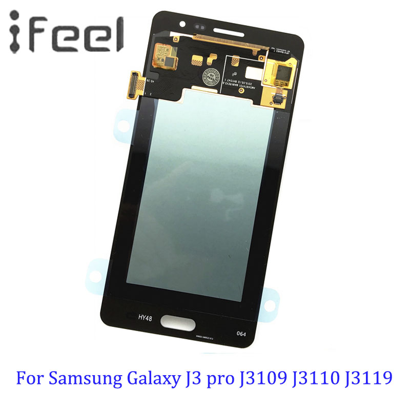 Super AMOLED Adjustable LCD For Samsung Galaxy J3 pro J3109 J3110 J3119 LCDS Display Touch Digitizer Screen Super AMOLED Adjustable LCD For Samsung Galaxy J3 pro J3109 J3110 J3119 LCDS Display Touch Digitizer Screen