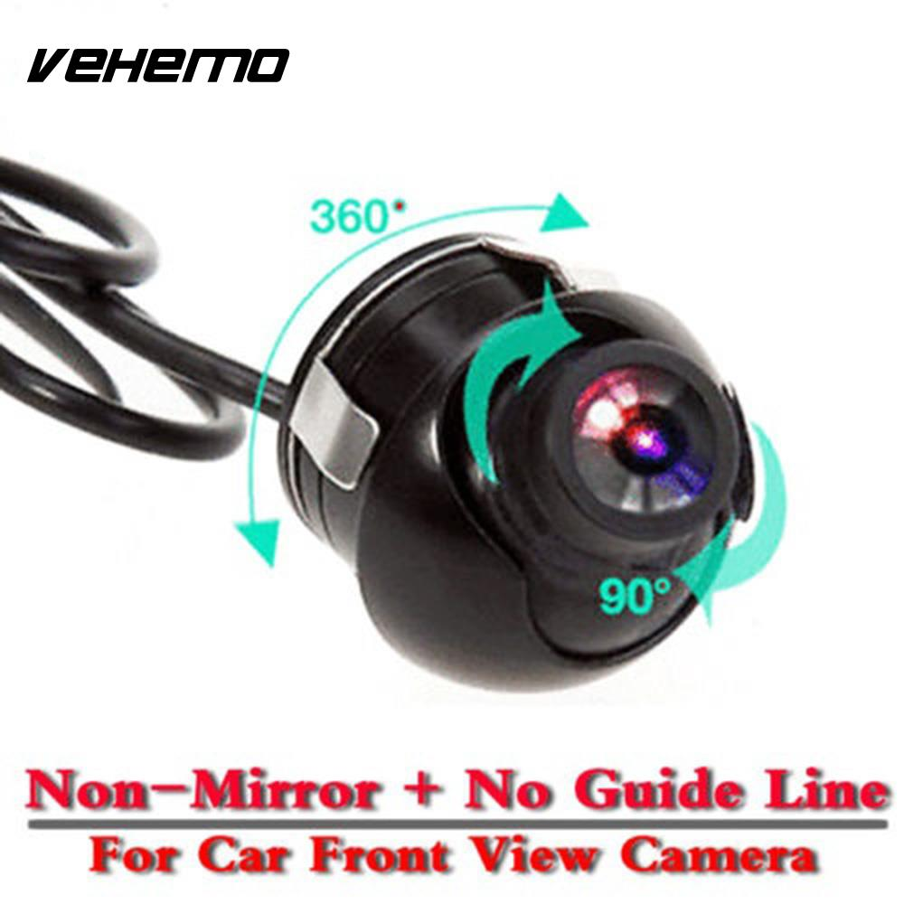 CCD Universal Parking Camera Cam Shockproof Front View Camera Mini Vehicle Monito Car Rearview