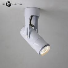 ISL новейшие современные светодио дный потолочные светильники поверхностного монтажа удара черный/белый 7 Вт AC85-260V для Гостиная Спальня фоне лампы