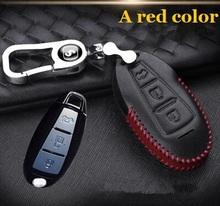 1 pc auto etui na klucze uchwyty na klucze brązowy torba na klucze nadaje się do suzuki vitera s-krzyż alivio wagon X5 SX swift liana A6 tanie tanio Kadir Koc