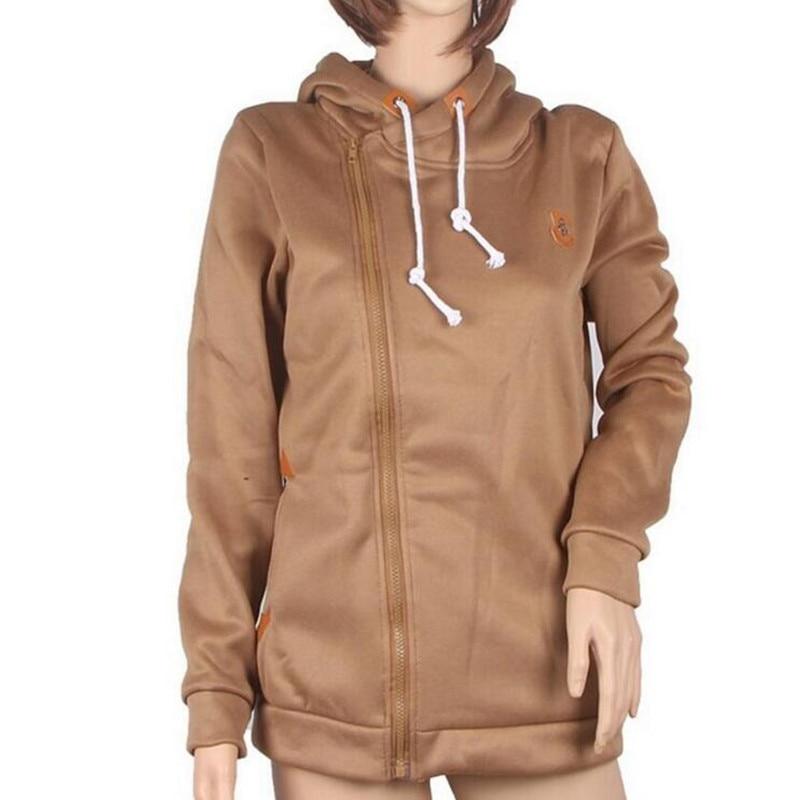 2018 Solid Women Hoodies Sweatshirts Spring Autumn Hoodies Kvinder - Dametøj - Foto 4