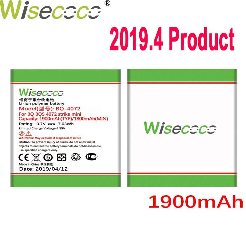 7b3f654aee05 Cheap WISECOCO batería de 1900 mAh para BQ BQS 4072 BQ 4072 huelga mini  teléfono móvil