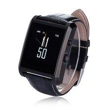 Lonzune Wasserdichte Bluetooth Smart Uhr IPS Touchscreen Fallschutz Smartwatch mit Kamera Sweatproof Lederband