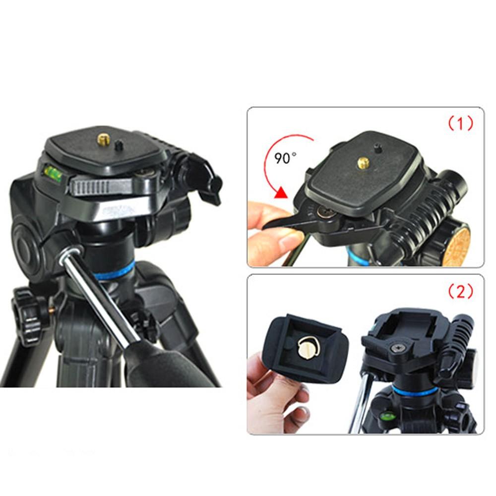 QZSD-Q08-Aluminum-Video-Tripod-Ball-Head-3-way-Fluid-Head-Rocker-Arm-with-Quick-Release (4)