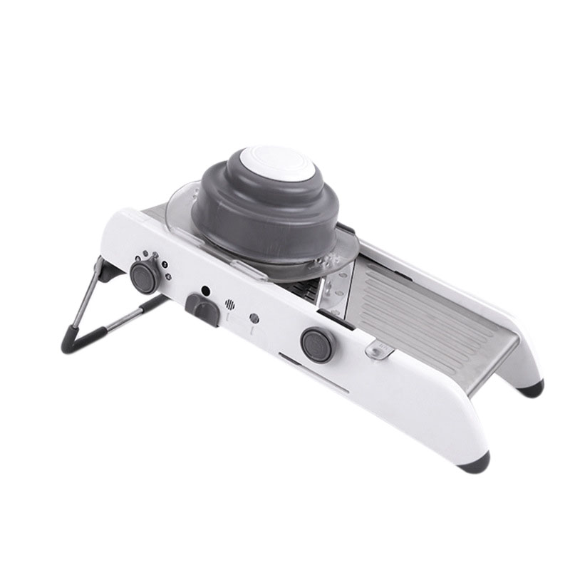 Manual Professional Grinder Stainless Steel Slicer Vegetable Kitchen Tool Multi Function Adjustable Vegetable Cutting Machine|Electric Peelers| |  - title=