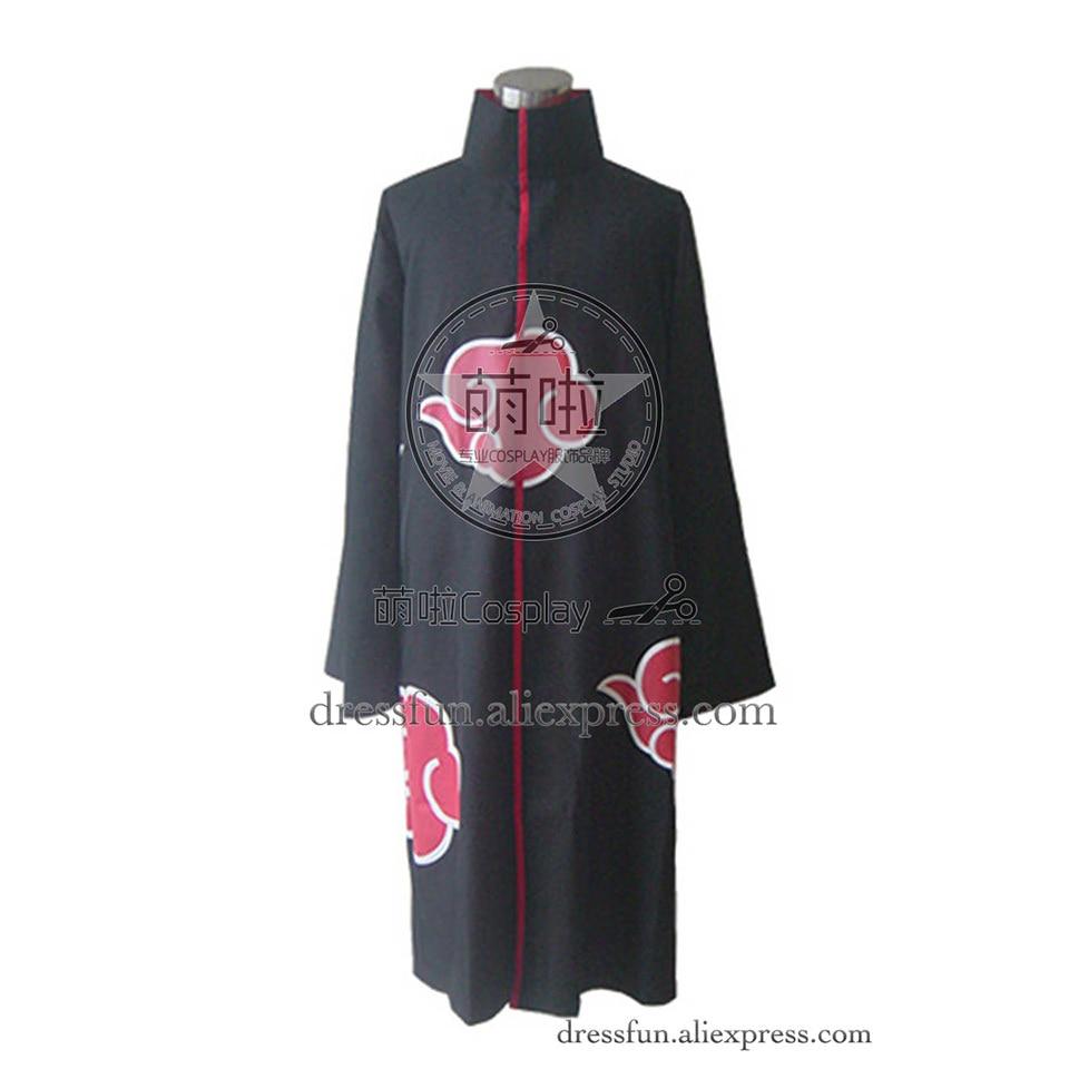 Naruto Cosplay Organization Akatsuki Madara Uchiha Costume Cloak Uniform Outfits Halloween Fashion Party Fast Shipping