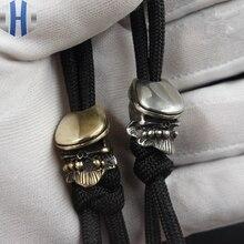 Handmade Irish Boxer Knife EDC Umbrella Rope Flashlight DIY Pendant Keychain Lanyards Beads