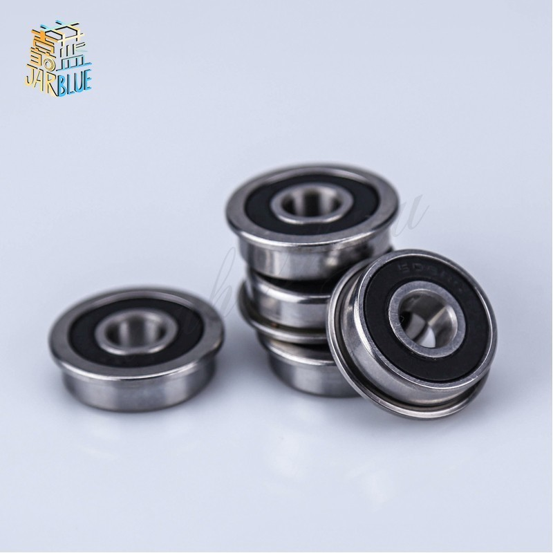 16*35*11mm F6202 F6202rs F6202-16-2rs 16x35x11Mm Flange Bearing Miniature Deep Groove Ball Bearing Sealed Ball Bearings 2016 new 624vv v groove sealed ball bearings vgroove 4x13x6mm 1 7mm deep sealing cover deep groove ball bearing