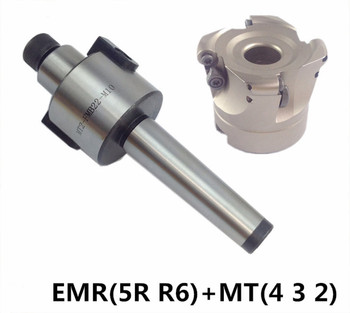 MT4 FMB22 M16 MT3 FMB22 M12 MT2 FMB22 M10+EMR5R 50-22-4T Combi Shell Mill Arbor Morse Taper Tool Holder CNC Milling Machine 1pcs bt morse4 mt4 bt40 toolholder for cnc machine tool holder taper with tang bt40 mtb4 100 morse taper sleeve with tang