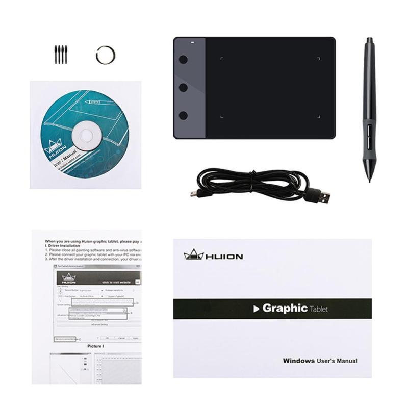 Dessin graphique numérique Portable pour tablette de Signature professionnelle Huion H420 - 6