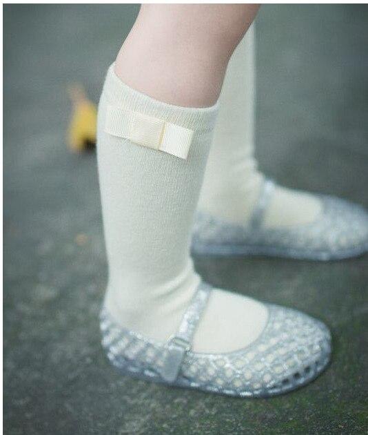 Baby-Girls-Knee-Socks-with-Bows-Girls-Princess-Bowknot-Socks-Kids-School-Socks-Long-Tube-Childrens-Leg-Warmer-Creamy-White-Blue-2