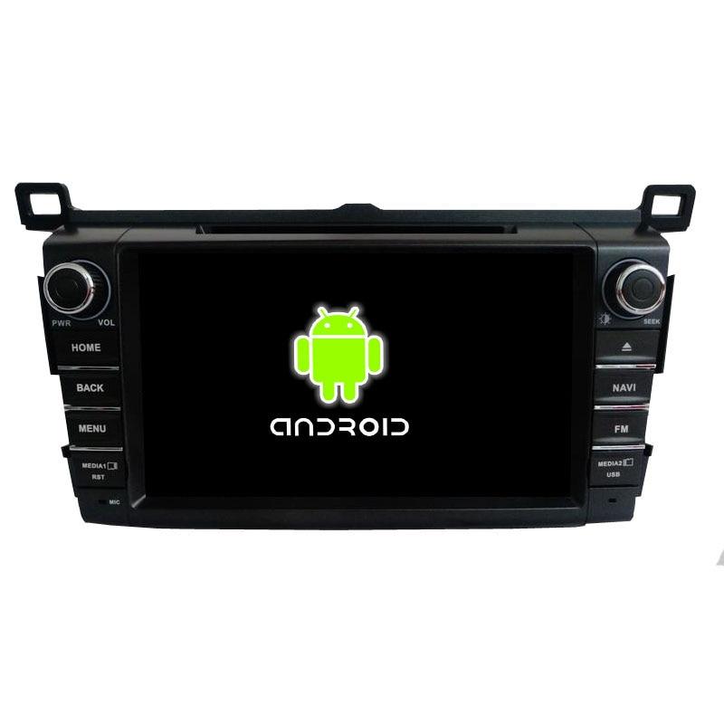 ROM 16G Quad Core font b Android b font Fit Toyota RAV4 2013 2014 2015 Car