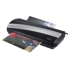 A4 Foto Laminator Papier Film Dokument Thermische Hot & Cold Laminator A4 Plastificadora Termolaminar Laminiermaschine (Eu-stecker)
