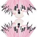 Venta al por mayor 2016 nueva moda 32 unids maquillaje cepillos del polvo fundación sombra de ojos cosmético de labios delineador pincel herramienta envío gratis
