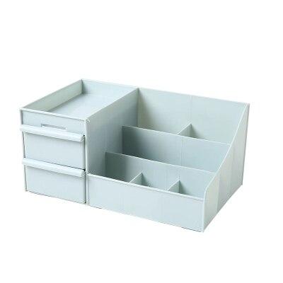 Maquillage organisateur maquillage boîte de rangement conteneur clou cercueil titulaire bureau divers mallette de rangement en plastique cosmétique tiroir