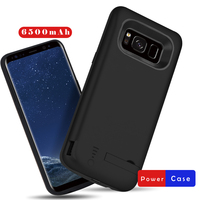 In All 6500mAh Battery Case For Samsung Galaxy S8 Plus USB Smart Charger Cover For Samsung