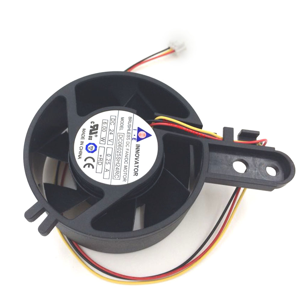 Blower cooling fan 6025 24V 0.25A 6W DC06025SH24RC BRUSHLESS DC FAN/DC MOTOR cooler As Replacement 5pcs 5015 cooling turbo fan 12v brushless parts 2pin for makerbot reprap prusa cooler blower 50x50x15 3d printer part plastic dc