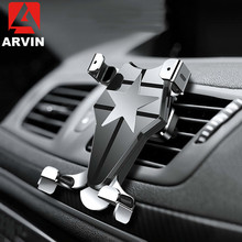 Arvin 360 Rotation Phone Car Holder For iPhone X XR Samsung S9 Air Vent Cell Bracket Mount In