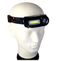 MINGRAY USB Aufladbare Scheinwerfer LED 18650 heißer verkauf COB kopf lampe Camping tragbare licht auf kopf laterne leistungsstarke taschenlampe