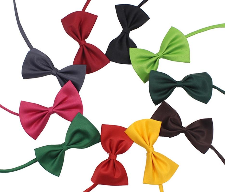 100 pc ou 300 pc réglable chien noeud papillon cou accessoire collier collier chiot couleurs vives Pet cravate accessoires de toilettage
