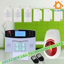 Высокое Качество 106 Зон Обороны Беспроводной Домашней Интеллектуальная Система Сигнализации GSM Охранной Сигнализации с Голосом 850/900/1800/1900 МГц