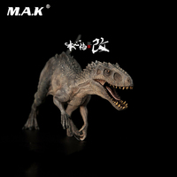 Collectible Bereserker Rex Figurine 1/35 Scale Indominus Dinosaur Black Tyrannosaurus Model Figure Gifts for Fans Children Gifts