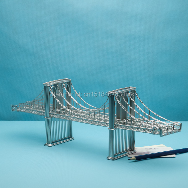 KOSTENLOSER VERSAND J46 BROOKLYN BRIDGE STATUEN/DRAHT MODELL ...