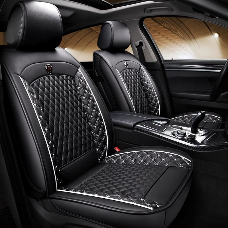 (Avant + arrière) housses de siège de voiture en cuir spécial pour Toyota land cruiser 100 120 200 land cruiser prado 120 prado 150 lc200