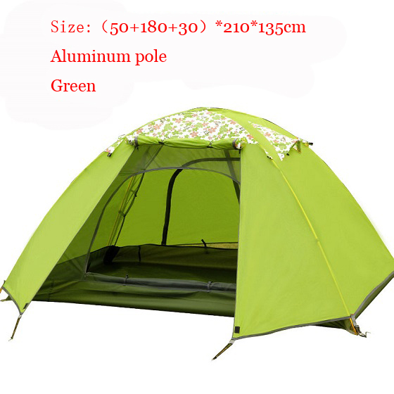 Flytop fiber glass poleu0026aluminum pole 3 4persons double layer tent Flysheet reflective strips can have a warning effect at night-in Tents from Sports ...  sc 1 st  AliExpress.com & Flytop fiber glass poleu0026aluminum pole 3 4persons double layer tent ...