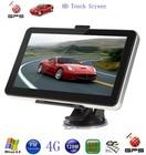 "Fashion Car GPS 4.3 "" or 7"" HD Touch Screen Portable GPS Navigator FM MP3 Video Play Car Entertainment"