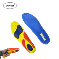 Factory Sport Insoles Shock Absorption Pads Running Sport Shoes Inserts Breathable Insoles Foot Health Care For
