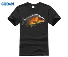 Carp Tshirt - If You Can Catch Fish Men'S O-Neck Printed Tee Shirt Cheap Sale 100 % Cotton Top Tee Brand(China)