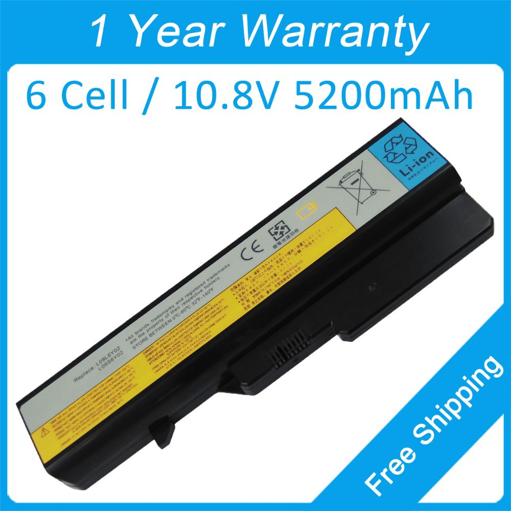 5200mah laptop battery for <font><b>lenovo</b></font> <font><b>B570E</b></font> B570G G460G G460L G470A G475A G565G G565L G570E V570G 121001150 121001097 31CR19/66-2 image