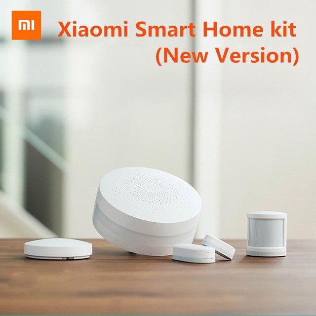 Original Xiaomi Smart Home Kit Mijia Gateway Door Window Sensor Human Body Sensor Wireless Switch Smart